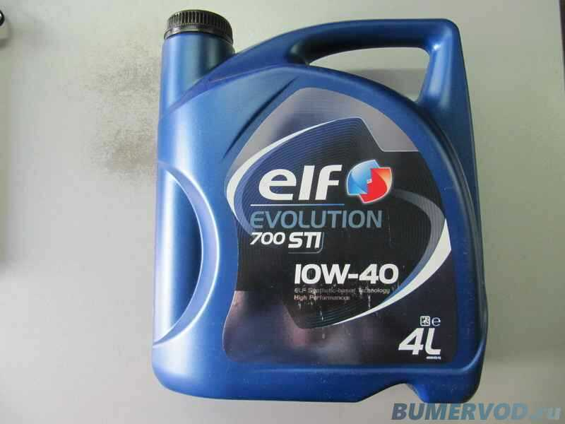 Моторное масло ELF Evolution 700 STI 10W-40